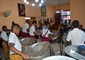 Cuban steel orchestra started with pans, training from Guyana now...